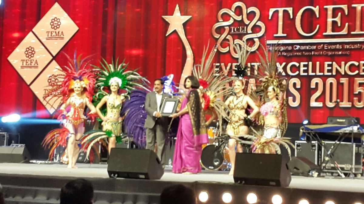 MCI India is 'KOH e NOOR of Hyderabad' at TCEI Event Excellence Awards2015