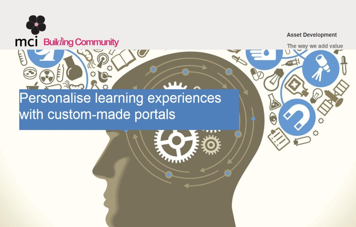 Personalise learning with custom-made portals